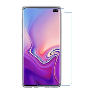 [Anti-blue-ray] [Anti-explosion] Soft PET Screen Protection Film for Samsung Galaxy S10 Plus [Support Ultrasonic Fingerprint Unlock]