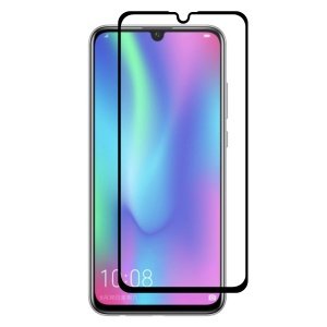 HAT PRINCE Full Glue 0.26mm 9H 2.5D Tempered Glass Full Size Screen Film for Huawei Honor 10 Lite / P Smart (2019)