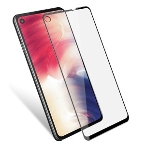IMAK Pro+ Anti-explosion Tempered Glass Full Screen Protector for Samsung Galaxy A8s