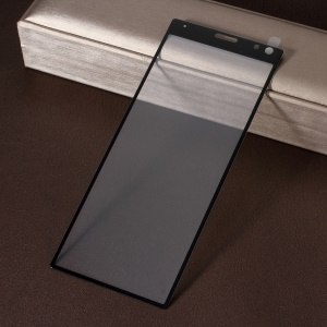 [Anti-explosion] Silk Printing Tempered Glass Full Screen Guard Film for Sony Xperia 10