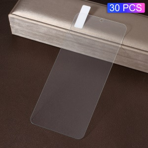 30Pcs/Pack 2.5D 9H Explosion-proof Tempered Glass Screen Protection Film for Huawei P30
