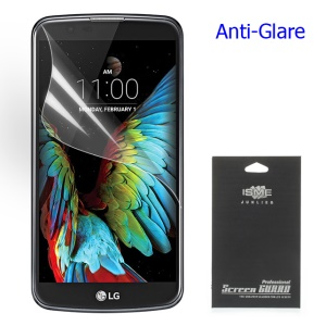 Matte Anti-glare LCD Screen Guard Film for LG K10 (Black Package)