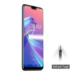 HAT PRINCE 3D Full Size Soft Screen Protector for Asus Zenfone Max Pro (M2) ZB631KL