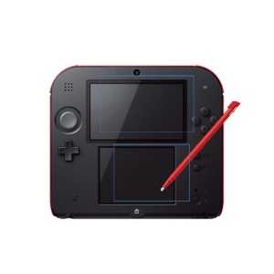 Ultra Clear LCD Screen Protector Films for Nintendo 2DS Top + Buttom LCD Screens