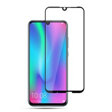 AMORUS Full Glue Silk Printing Tempered Glass Full Screen Protector for 	Huawei Honor 10 Lite / P Smart (2019)
