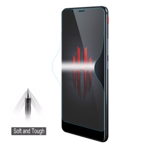 HAT PRINCE Soft 3D Full Coverage Screen Protective Film for ZTE Nubia Red Magic Mars
