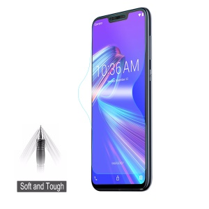 HAT PRINCE Soft 3D Full Coverage Screen Protector Film for Asus Zenfone Max (M2) ZB633KL