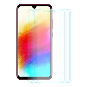 ENKAY 10Pcs/Set 0.26mm 9H Tempered Glass Screen Protectors 2.5D Arc Edge for Xiaomi Redmi Note 7