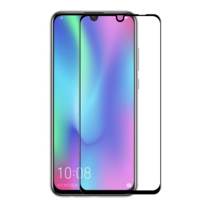 HAT PRINCE for Huawei Honor 10 Lite / P Smart (2019) Tempered Glass Screen Protective Film [6D Curved Edge] [Alignment Frame] 0.26mm 9H Full Size