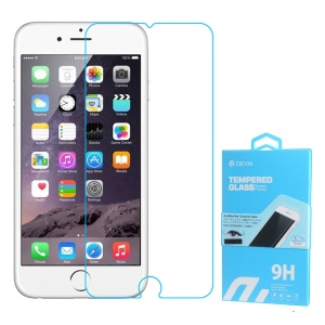 DEVIA for iPhone 6s Plus/ 6 Plus Anti-blue-ray 0.26mm 9H Tempered Glass Screen Guard 2.5D Arc Edge