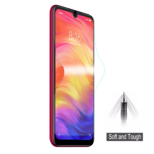 HAT PRINCE Explosion-proof 3D Full Coverage Screen Protector Film for Xiaomi Redmi Note 7 / Note 7 Pro (India)