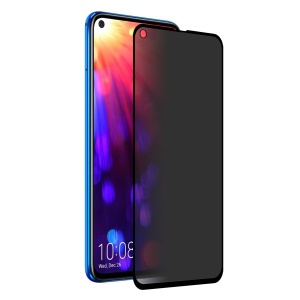 HAT PRINCE for Huawei Honor View 20/V20 9H 2.5D 0.26mm [Anti-spy] Tempered Glass Full Screen Protector - Black