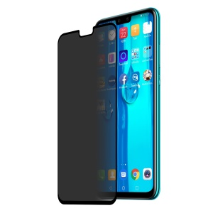HAT PRINCE for Huawei Y9 (2019) / Enjoy 9 Plus [Ant-spy] Full Size Tempered Glass Screen Protective Film 0.26mm 9H