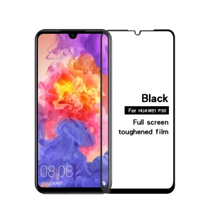 MOFI Full Size Tempered Glass Screen Protector for Huawei P30 - Black