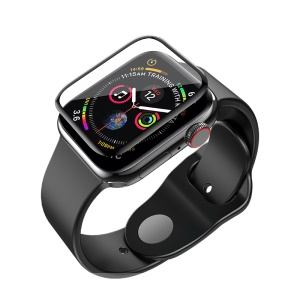 HOCO Curved HD Silk Printing Tempered Glass Screen Protector for Apple Watch Series 4 44mm