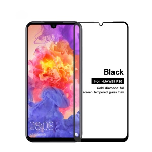 PINWUYO Full Screen Tempered Glass Protector Anti-explosion for Huawei P30