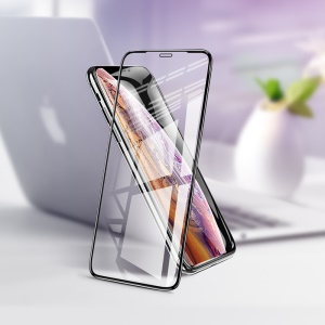 HOCO G1 Flash Attach HD Silk Printing Full Screen Tempered Glass Screen Protector for iPhone X / XS