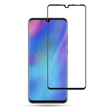 MOCOLO Silk Printing Tempered Glass Full Screen Protector for Huawei P30 Lite - Black