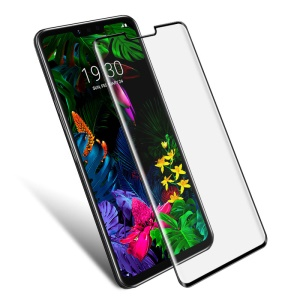 IMAK 3D Curved Full Screen Tempered Glass Screen Protector for LG G8 ThinQ