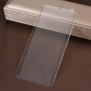 Full Covering Screen Silk Printing Tempered Glass Shield for Huawei P30 Pro - Transparent