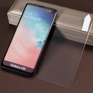 RURIHAI 3D Full Glue UV Liquid Tempered Glass Protector Full Size [Case Friendly] for Samsung Galaxy S10 (Works with UV Lamp: 109901251)