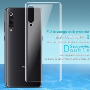 2PCS/Set IMAK Soft Hydrogel Back Cover Protector for Xiaomi Mi 9