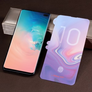 Full Covering Soft PET Screen Protector Film for Samsung Galaxy S10 Plus (Fingerprint Unlock)