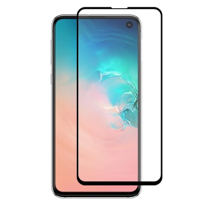 HAT PRINCE Full Glue 0.26mm 9H 2.5D Tempered Glass Full Screen Covering Protector for  Samsung Galaxy S10e