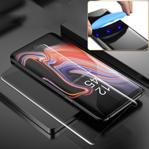 MOCOLO 3D Curved Full Transparent Tempered Glass Screen Protective UV Film for Samsung Galaxy Note9 SM-N960