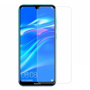 Arc Edge Tempered Glass Screen Guard Film Anti-explosion 0.3mm for Huawei Y7 Prime (2019)
