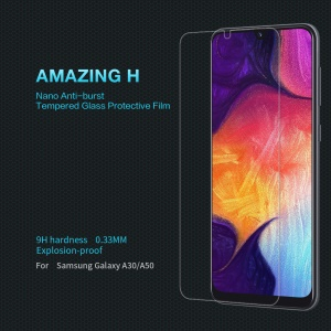 NILLKIN Amazing H Anti-burst Tempered Glass Screen Protector for Samsung Galaxy A50/A30