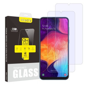 ITIETIE [2Pcs/Set] for Samsung Galaxy A50 Tempered Glass Screen Protector 9H Films