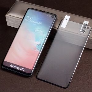 Soft Full Size PET Screen Protective Film for Samsung Galaxy S10 (Ultrasonic Fingerprint Unlock)