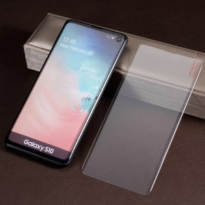 3D Full Coverage UV Liquid Tempered Glass Screen Protector+UV Lamp for Samsung Galaxy S10