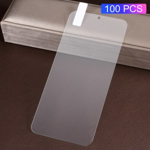 100Pcs/Pack 0.3mm Arc Edge Tempered Glass Screen Protective Film for Xiaomi Redmi Note 7 / Note 7 Pro (India)