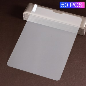 50Pcs/Set for iPad Air (2020)/Pro 11-inch (2020) (2018) Tempered Glass Screen Protective Film Arc Edge 0.3mm