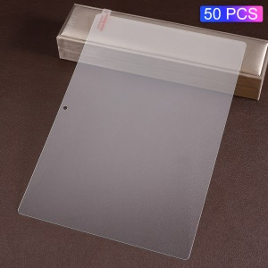 50Pcs/Pack 0.3mm Arc Edges Full Size Tempered Glass Guard Film for Lenovo Tab M10 TB-X605F (No Package)