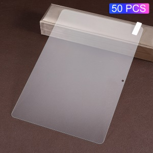 50Pcs/Pack 0.3mm Arc Edges Full Size Tempered Glass Shield for Huawei MediaPad T5 10 (No Package)