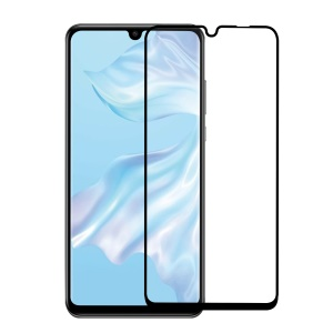 2.5D 9H Arc Edge Full Size Tempered Glass Screen Film Cover for Huawei P30 Pro