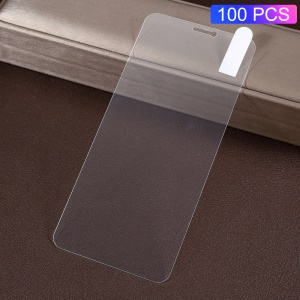 100Pcs/Pack 0.3mm Arc Edges Tempered Glass Screen Protector Anti-explosion for Huawei P Smart (2017) / Enjoy 7S