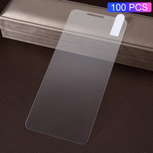 100Pcs/Pack 0.3mm Arc Edges Tempered Glass Screen Protection Film for Samsung Galaxy J6 Plus