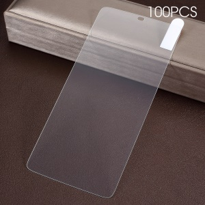 100Pcs/Pack 0.3mm Tempered Glass Screen Protector Arc Edge for OnePlus 6