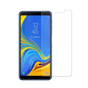 0.25mm Arc Edge 9H Tempered Glass Protector Anti-explosion for Samsung Galaxy A7 (2018)