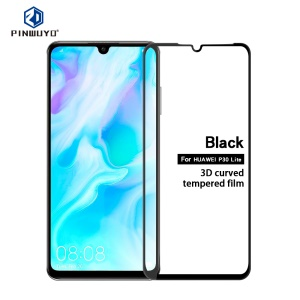 PINWUYO 3D Curved Anti-explosion Full Coverage Tempered Glass Film for Huawei P30 Lite/Nova 4e