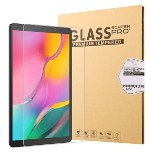 0.25mm Arc Edge 9H Full Screen Covering Tempered Glass Shield for Samsung Galaxy Tab A 10.1 (2019) SM-T515