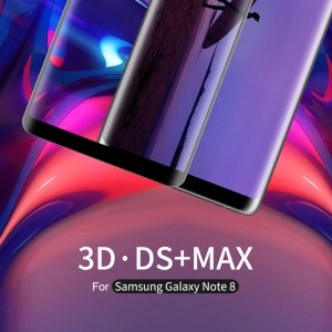 NILLKIN 3D DS + Max Anti-burst Curved Full Glue Tempered Glass Screen Protector for Samsung Galaxy Note 8 SM-N950
