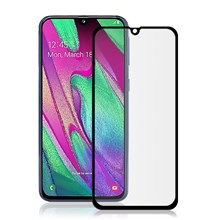 MOCOLO Silk Printing Ultra Clear Tempered Glass Full Screen Film [Full Glue] for Samsung Galaxy A40