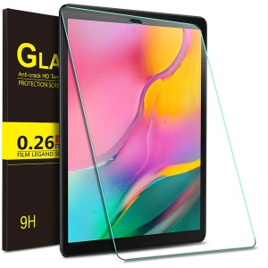 For Samsung Galaxy Tab A 10.1 (2019) T510/515 Tempered Glass Screen Protector Guard Film - Transparent