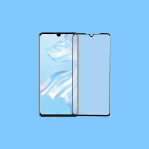 MOMAX 3D Curved Full Cover Tempered Glass Screen Protector 0.3mm for Huawei P30 - Black