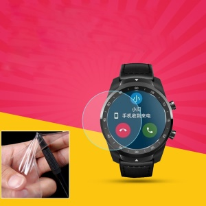 Soft TPU Anti-scratch Screen Protective Cover for Ticwatch Pro Smartwatch